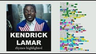 Kendrick Lamar - For Free? - Lyrics, Rhymes Highlighted (077)