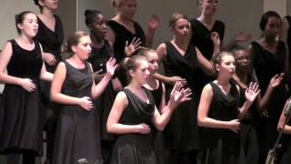 Fowler Choir Frisco Texas concert clip Banana Boat song