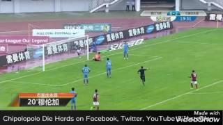 Jacob Mulenga's goal for Shijiazhuang Yongchang Vs Yunnan Lijiang