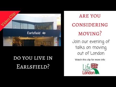 Considering moving out of London Evening talks