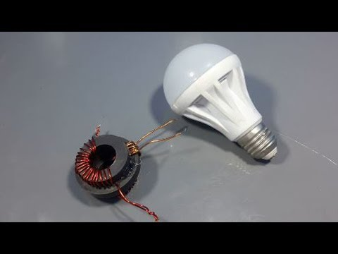 free energy generator magnet with light bulb electric device 2018 thumbnail