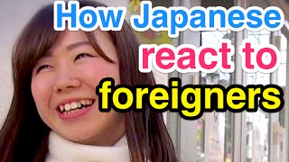 Ask Japanese how they REACT to FOREIGNERS (their voices)【原宿インタビュー:外国人に話しかけられた経験は?】