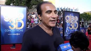 Iqbal Theba - 'Glee the 3D Concert Movie' Premiere