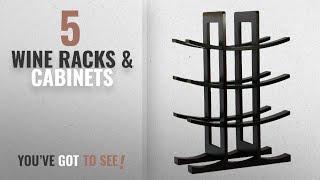 Top 10 Wine Racks & Cabinets [2018]: Oceanstar WR1132 12-Bottle Dark Espresso Bamboo Wine Rack