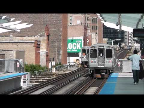 CTA's new Morgan Station, Green/Pink Lines, as of 22.05.12
