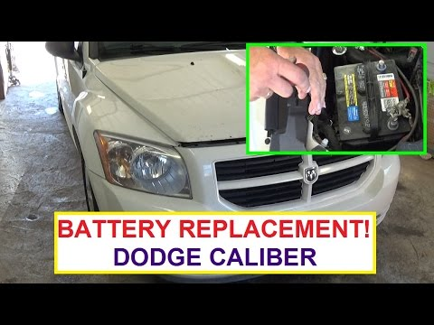 How to Replace battery on Dodge Caliber  Dodge Caliber