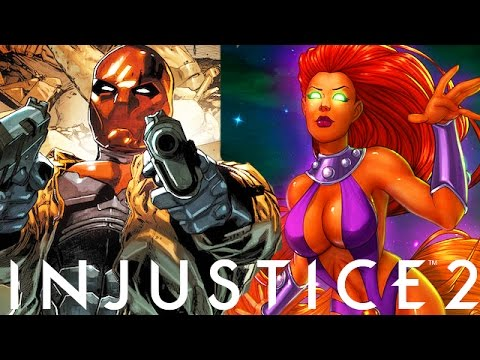 Injustice 2: Red Hood, Starfire & More DLC Character Possibilities (Injustice Gods Among Us 2)
