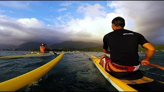 OC1 & V1 in 25 MPH Wind, Kaneohe Bay, Hawaii (GoPro Session)