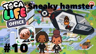 Toca life office | Sneaky Hamster #10
