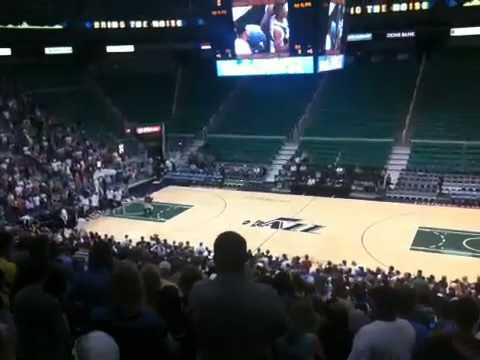 Utah Jazz unveil new court at Energy Solutions Arena