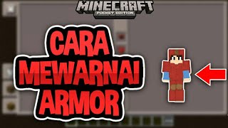 Cara Mewarnai Armor Di Mcpe | Minecraft PE