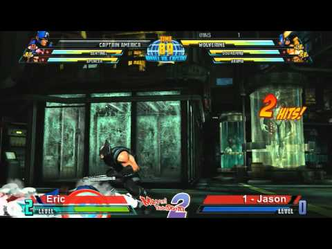 Eric vs Jason - Marvel Throwdown 2 @ Metropolis Comics And Toys