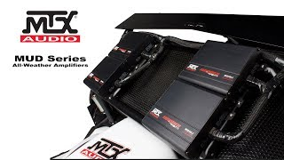 Video MTX Audio's MUD Series Amplifiers for All-Weather / Off-Road Installations download MP3, 3GP, MP4, WEBM, AVI, FLV Agustus 2018