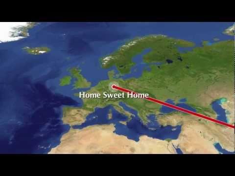 Abenteuer Weltreise - Route