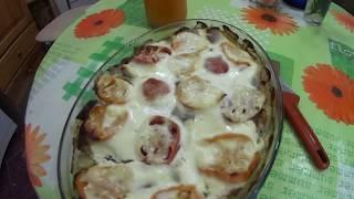 САМЫЙ ПРОСТЕЦКИЙ УЖИН!горбуша в духовке с картошкой! pink salmon in the oven with potatoes