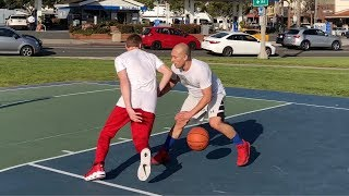"Professor Loses 1v1 vs 5\'8"" muscle bound hooper... Then Retaliates?"