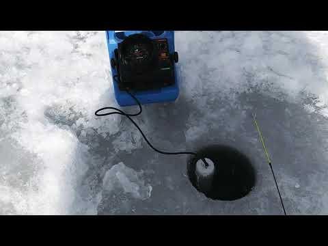Ice Fishing Evergreen Lake CO