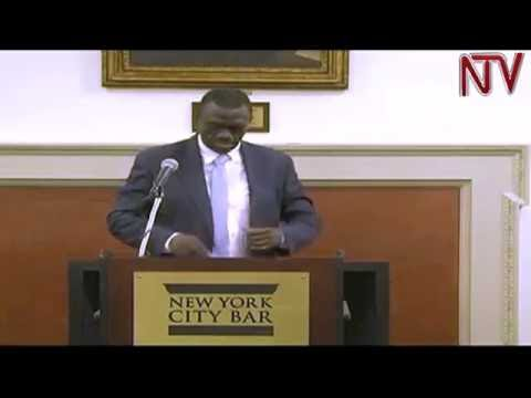 Besigye criticizes NRM government in speech to New York lawyers