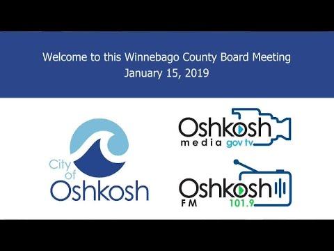 Winnebago County Board - 1/15/19