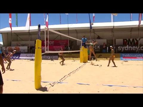 2017 FIVB World Tour, Manly Beach - Womens Round of 16, Australia vs Thailand
