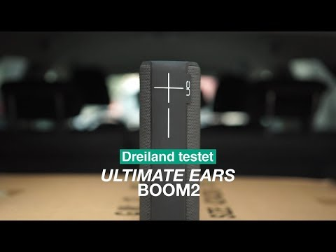 Vorschau: Logitech UE Boom 2 Bluetooth-Lautsprecher I Dreiland testet