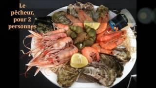 1er film : nos plateaux de fruits de mer