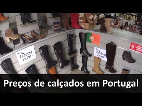 c6c4da63a Preços dos calçados em Portugal - YouTube