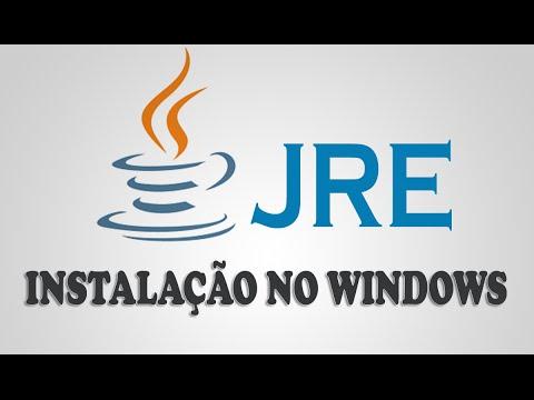 Como Baixar E Instalar O Java No Windows [ JRE ]