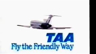A classic retro 1970's TAA ads with the Up Up and Away jingle.