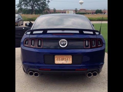 2013 Mustang GTCS  Borla SType Catback w JBA OR HPipe  BAMA