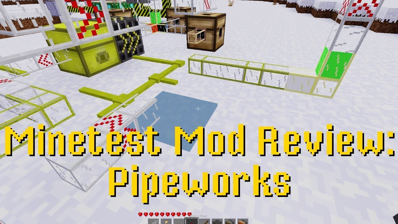 minetest pipeworks