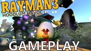 Rayman 3: Hoodlum Havoc [PC] Gameplay [GERMAN] - Jump & Run Action!