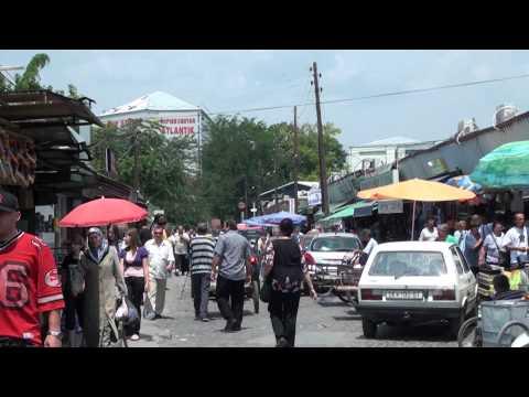 Skopje, Macedonia - A Walking Tour - HD 1080P Part 2