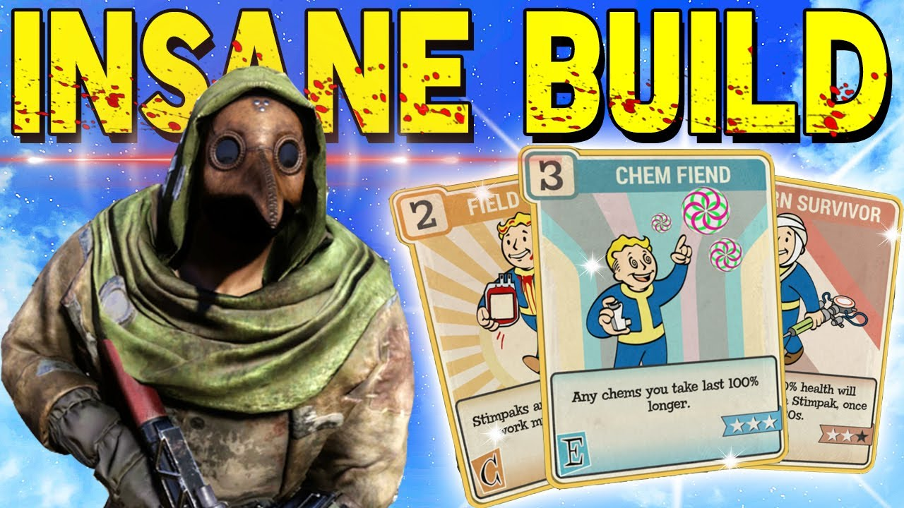 Fallout 76 | RifleGaming's Junkies Build! Best Perk Cards, Weapons, & Armor to Use