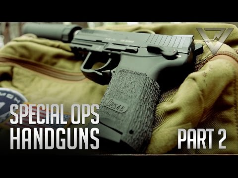 Special Ops Handguns Pt. 2 - Shooting Suppressed with HK45C