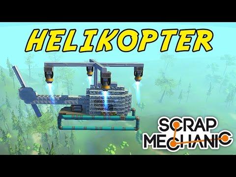 HELIKOPTER  SCRAP MECHANIC med SoftisFFS