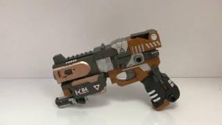 трансформер пистолет робот K04 Crusher - обзор