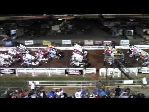 Williams Grove Speedway World of Outlaws Highlights 5-15-15