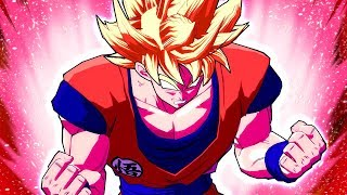 NEW SUPER KAIOKEN GOKU DRAMATIC ANIMATIONS! Dragon Ball FighterZ Super Saiyan Kaioken Goku MOD