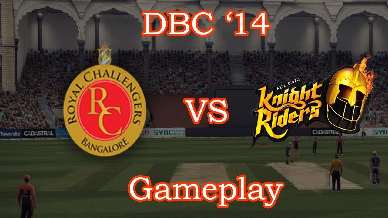 RCB Vs KKR | IPL 2018 | Match 29 | DBC '14 Gameplay - YouTube