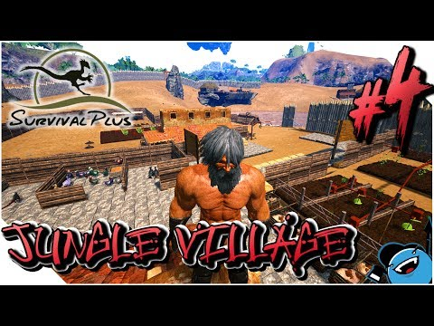 ARK : JUNGLE VILLAGE - Ep4 - ELEVAGE DE DINOS & PLANTATIONS [FR]