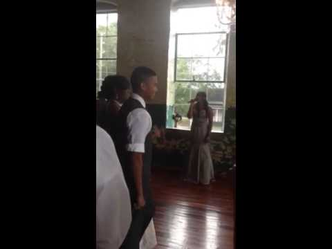 Daughter Sings Jamie Foxx's The Wedding Song at Her Two Mom's Wedding