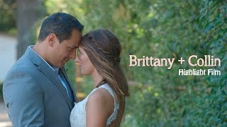 Brittany + Collin // Napa wedding film