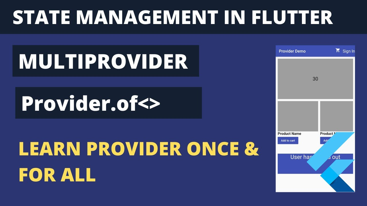 Provider Tutorial Flutter | MultiProvider and Provider.of