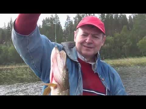 Карелия Рыбалка  красивые места уха ловля щуки