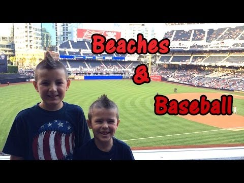 Beach Day & Petco Park [California Roadtrip]