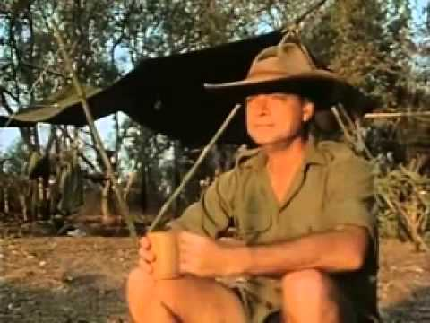 Les Hiddins - The Bush Tucker Man - Wildman part  1 of  2