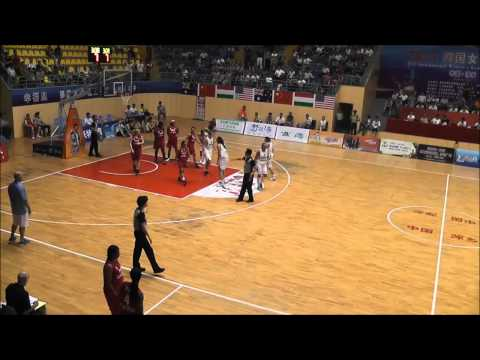 NetScouts Basketball USA Women All-Stars vs. Hungary in China