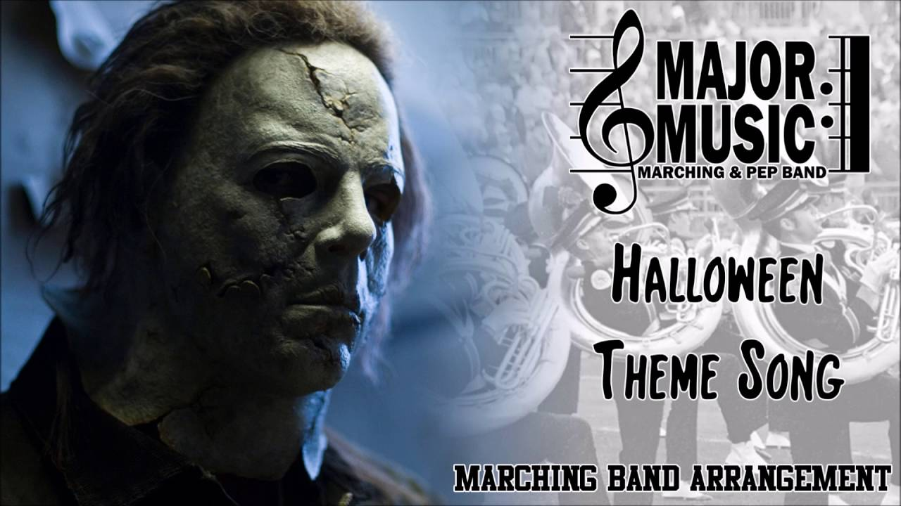 halloween theme song marchingpep band sheet music arrangement