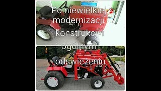 Traktor bolens tractor loader front garden homemade tur Ładowacz Czołowy mini kraktor ciągnik